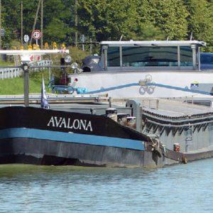Binnenschiff MS AVALONA